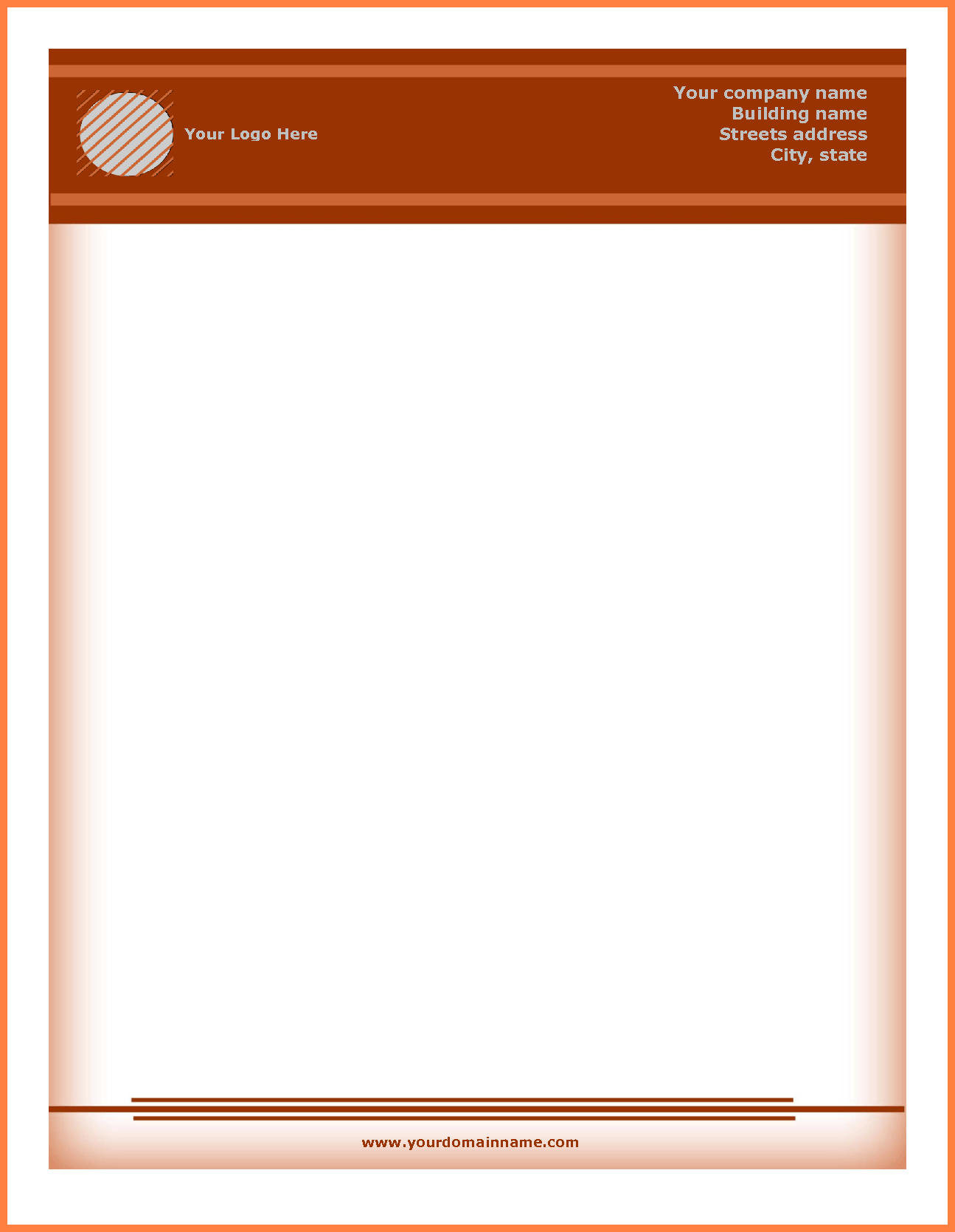 11 Letterhead Templates Download Company Letterhead