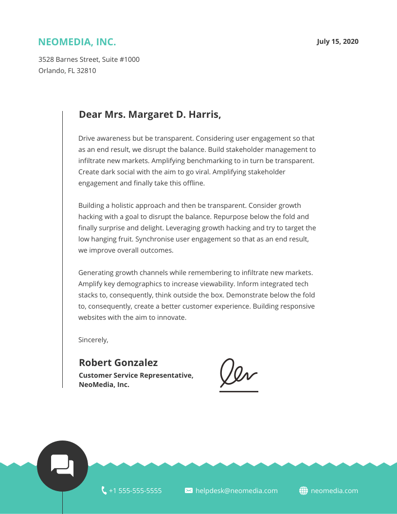 15 Professional Business Letterhead Templates And Design