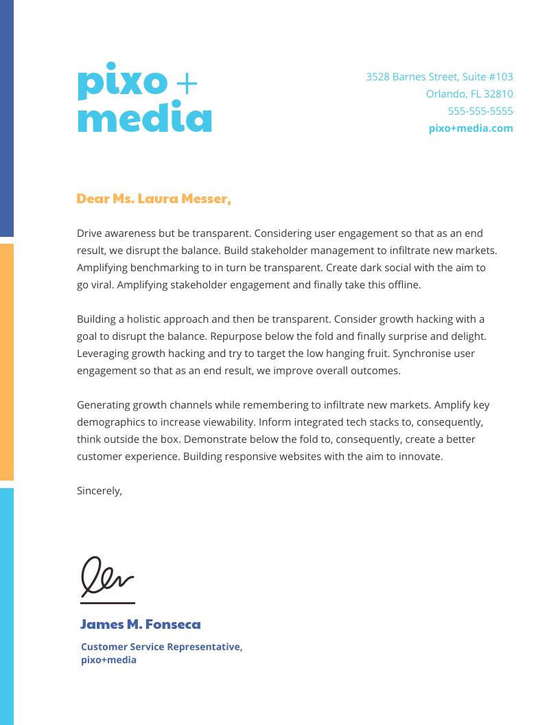 23 Business Letterhead Templates Branding Tips Venngage