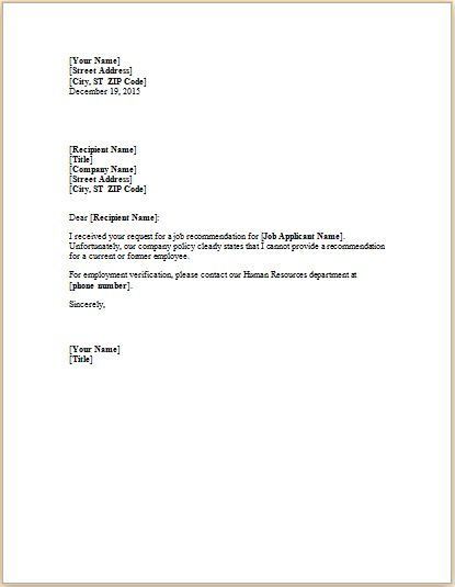 24 Business Letter Templates For Individuals Templateinn