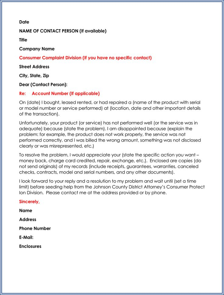 60 Business Letter Samples Templates To Format A