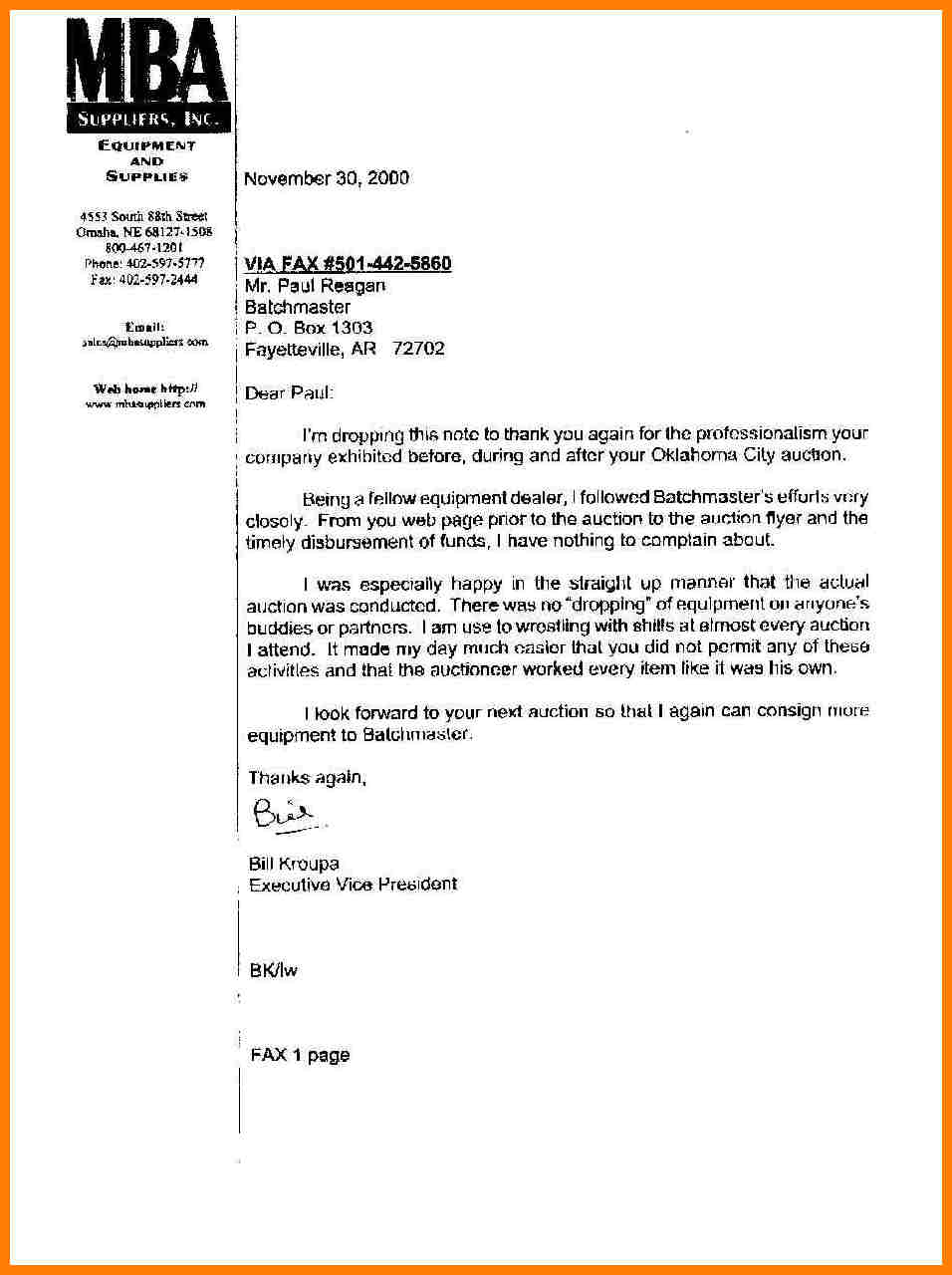 7 Harvard Business School Letter Of Recommendation