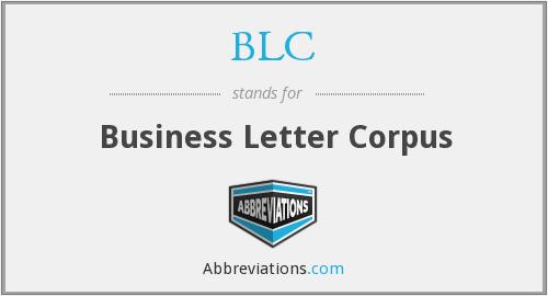 Business Letter Corpus