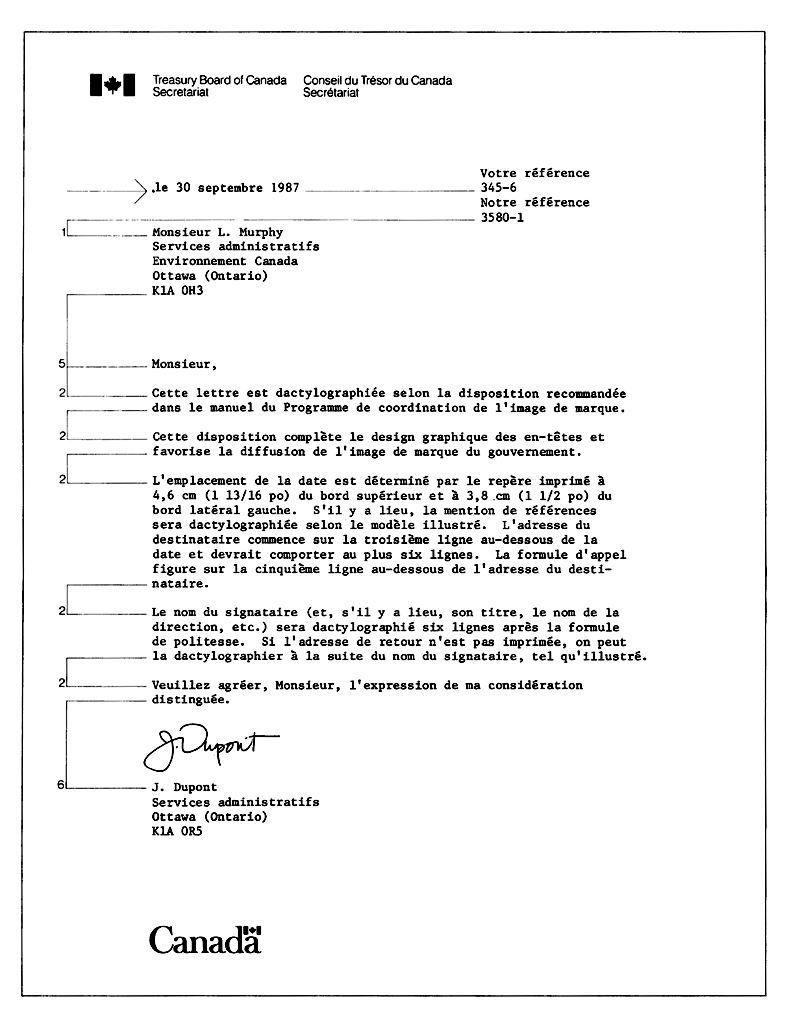 Business Letter Format Spacing Apparel Dream Inc