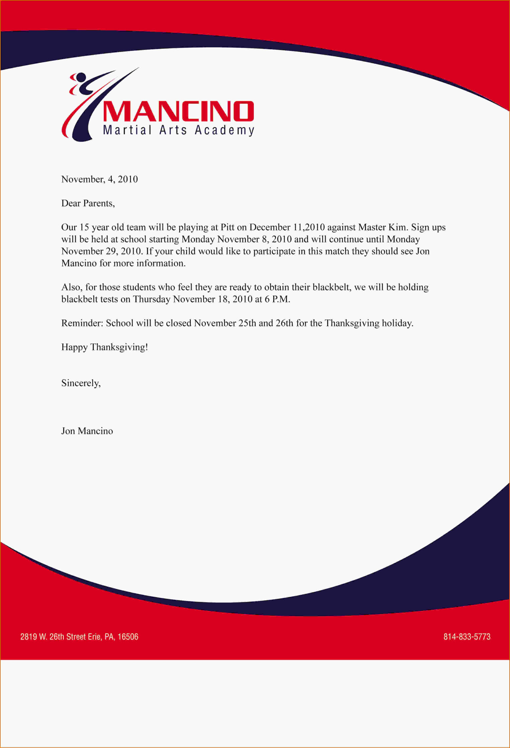 Company Letterhead Example 4 jpg Business Letter Example