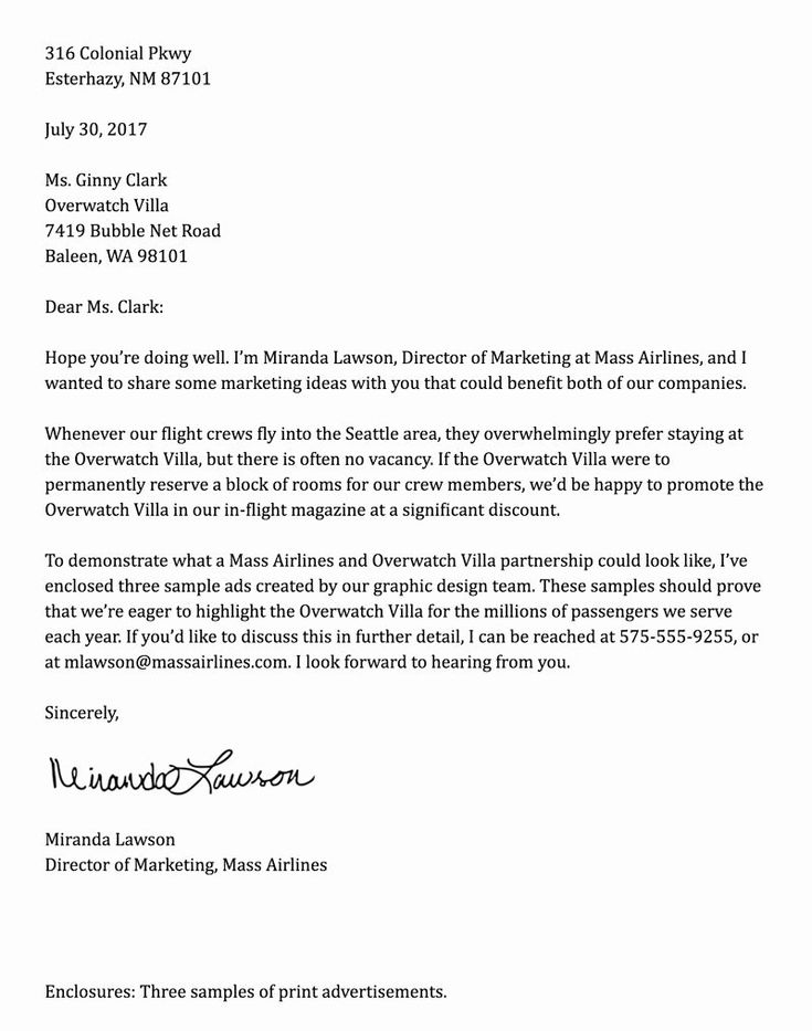 Formal Business Letter Template Awesome Business