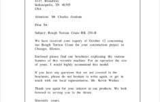 FREE 10 Sample Company Business Letter Templates In PDF