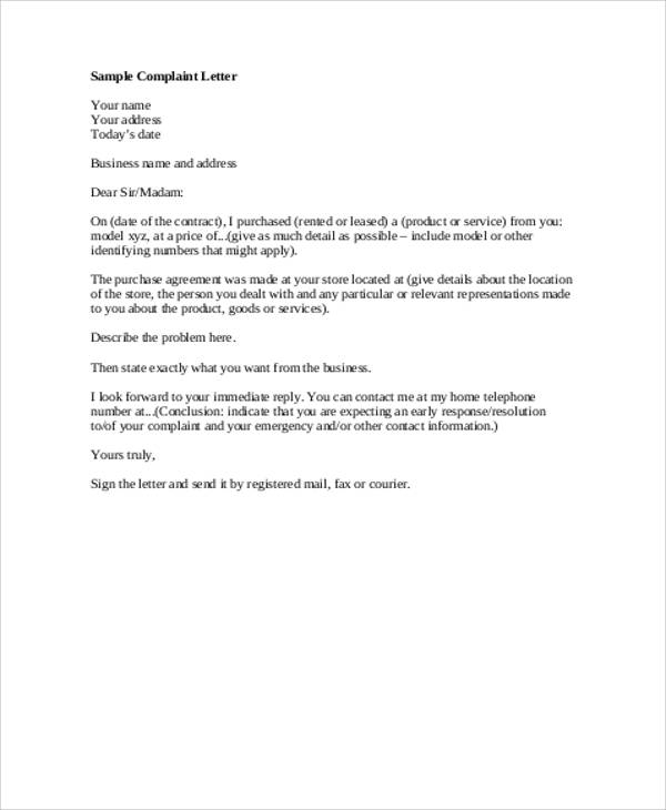 FREE 8 Formal Business Letter Samples In MS Word PDF