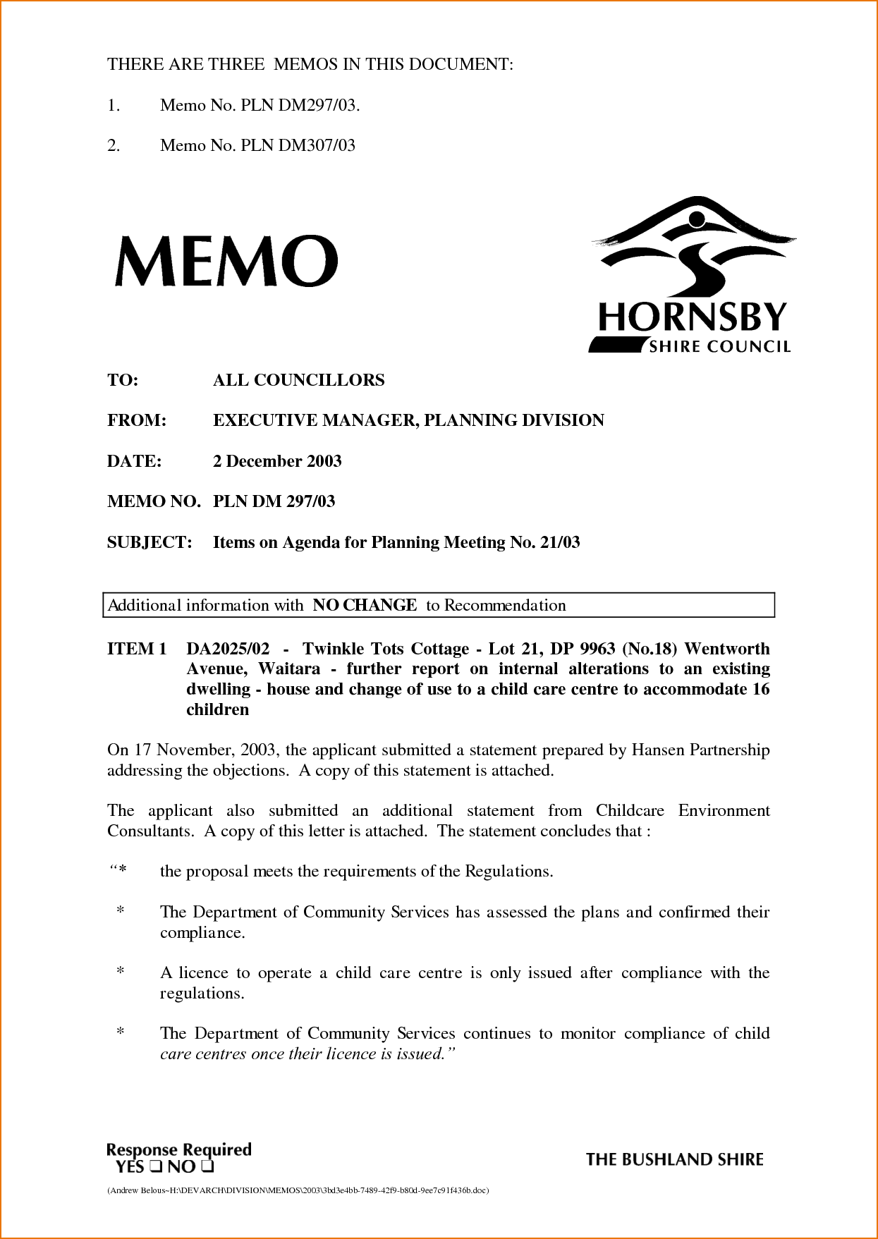 How Is A Business Memo Format Written