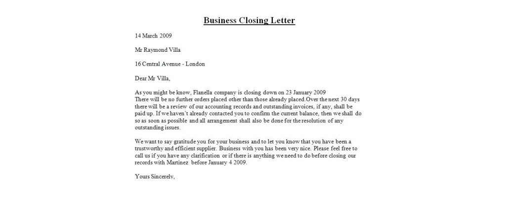 How To End A Business Letter Complete Guide With Sample