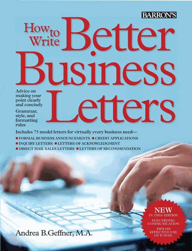How To Write Better Business Letters NewSouth Books