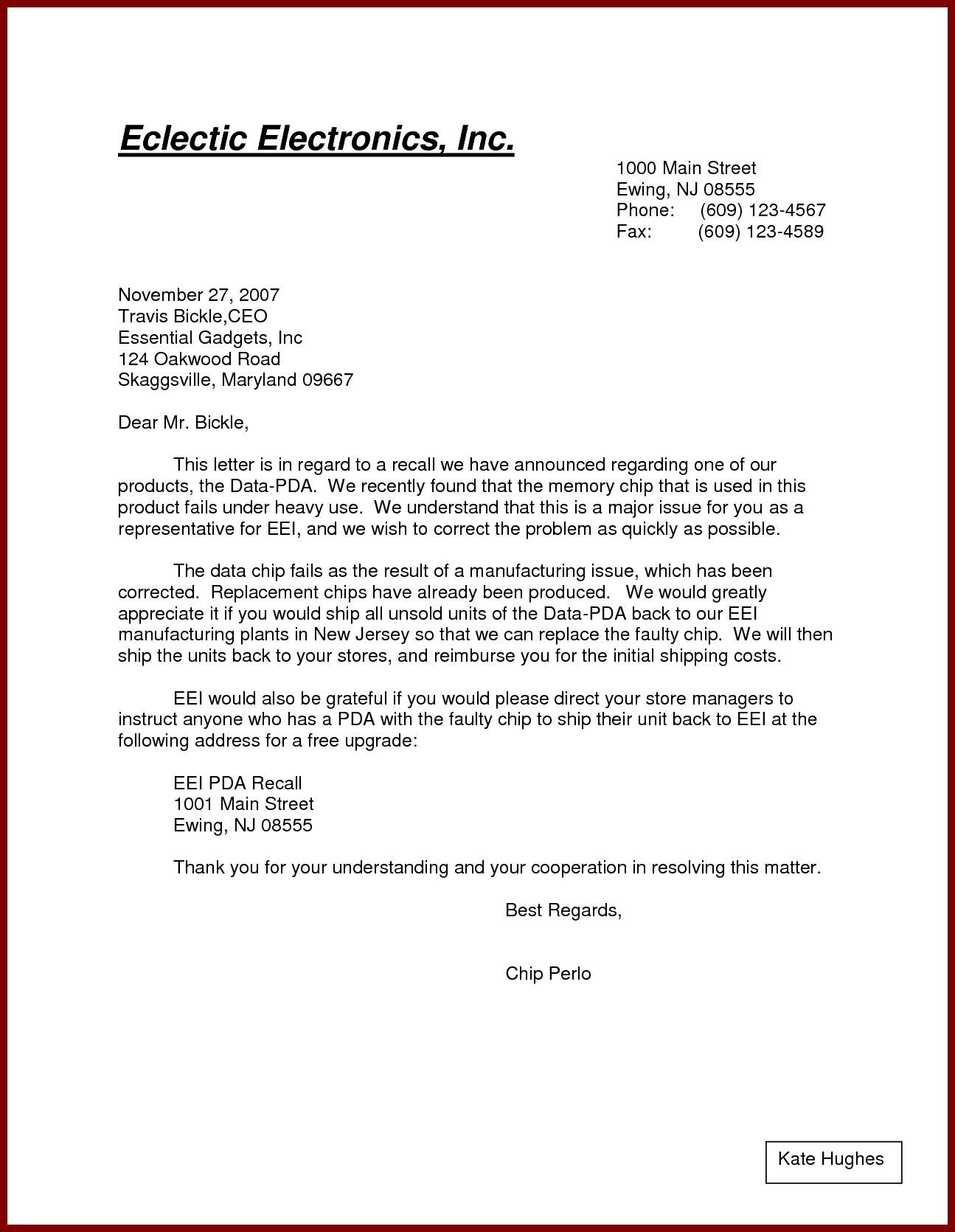 Letter Template Pdf Business Form Letter Template