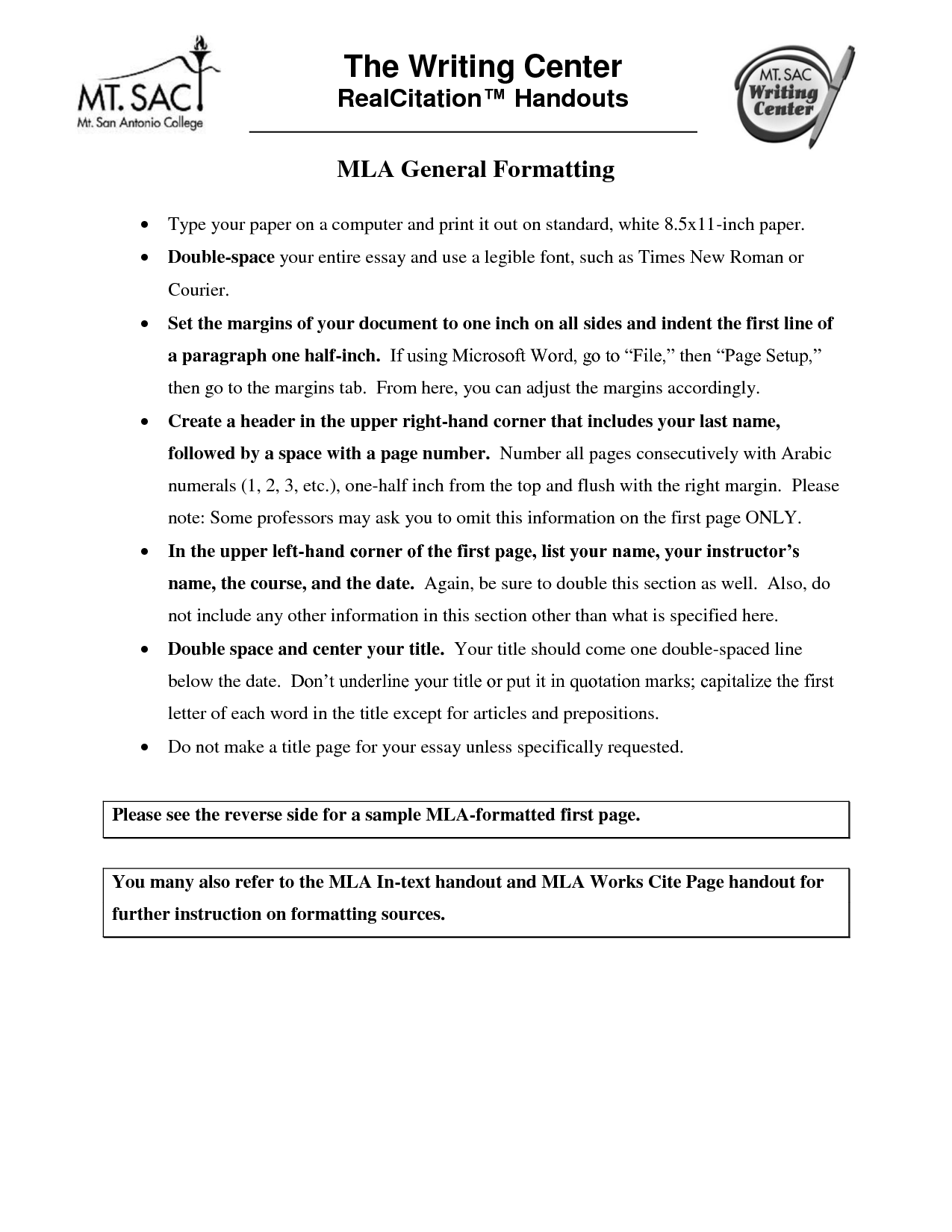 Mla Format For A Letter Collection Letter Template