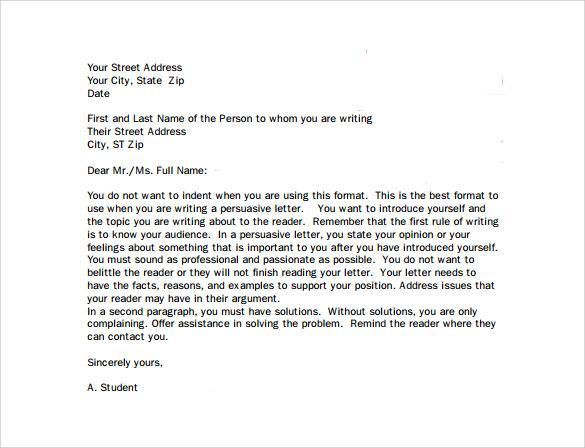 Professional Business Letter Format Apparel Dream Inc