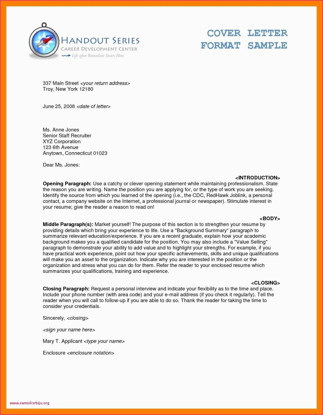 Sample Business Letter With Cc Salescv info