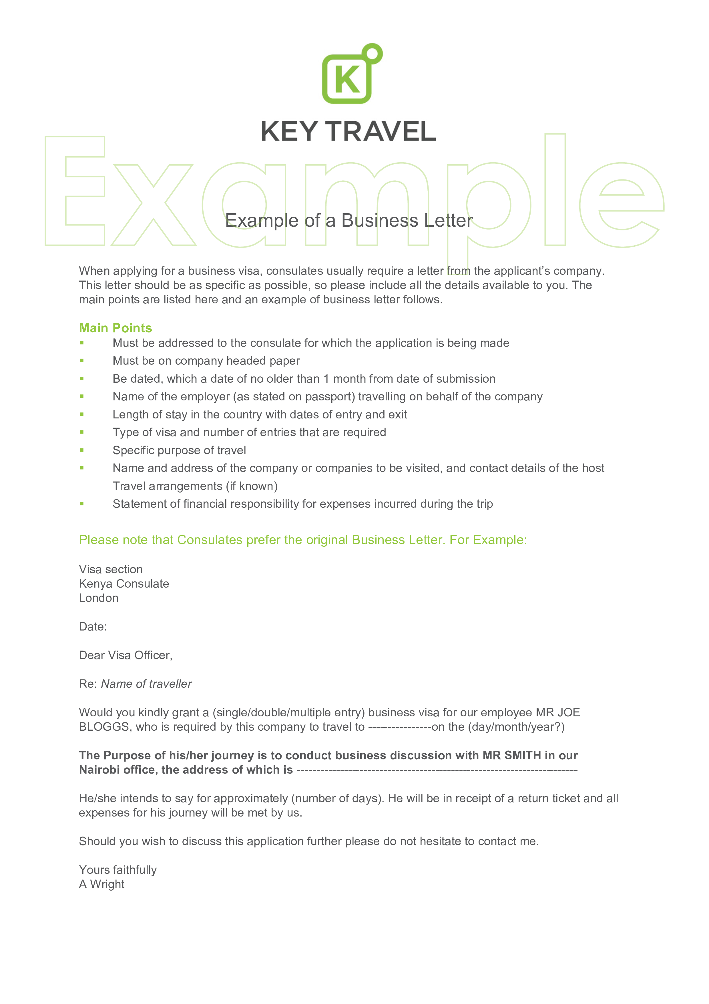 Standard Business Letter Templates At