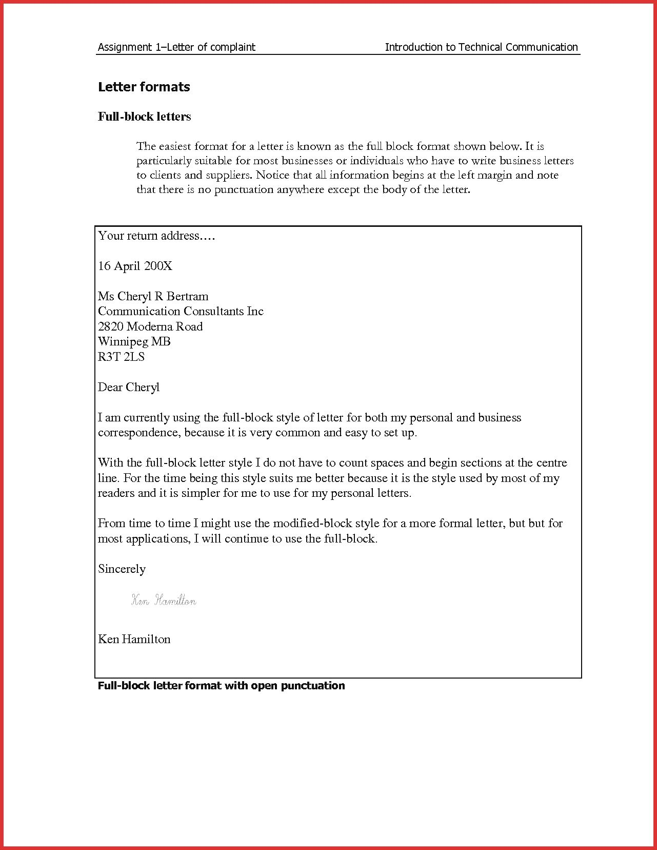 The Amazing 003 Template Ideas How To Get Business Letter