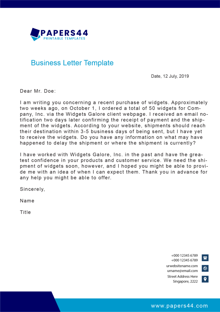 How To Write A Business Letter Video